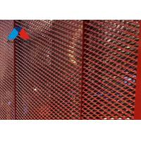 Buy cheap 4×8 FT Aluminium Grid Mesh Panels , Expanded Mesh Ceiling Panels product