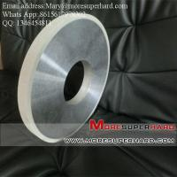 Buy cheap Vitrified bond Diamond Centerless Grinding Wheel for Grinding the Cylinder of PDC product