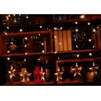Buy cheap Xmas Hanging Star Curtain Lights 1M 110v / 220volt Family Electricity Power product