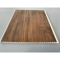 Buy cheap 10 Inch PVC Plastic Laminate Panels 2.6kg Per Sqm With Wooden Film For Ceiling product