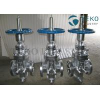 China API 6D Through Conduit High Pressure Self-tightening Slab Expanding Gate Valve For Natural Gas on sale