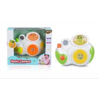Buy cheap Frog Music Drum Piano Newborn Baby Toys W / Lights Educational Instrument product