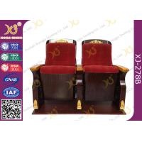 Buy cheap Fire Retardant Commercial Fabric Auditorium Theater Seating / Concert Hall Chairs product