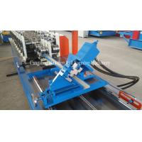 Buy cheap PLC Control Stud Roll Forming Machine With Hydraulic Cutting , Forming Speed 0 - 15m / min product