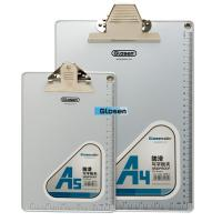 Buy cheap Aluminium Edging  Silver Personalize  Plastic Clip Board Smooth product