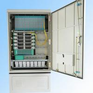 Buy cheap 288fo Street Fiber Optic Cabinet Outdoor , Fiber Optic Splice Closure Cross Connection product