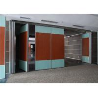 Buy cheap Banquet Hall Acoustic Room Dividers Aluminium Movable Wall 85 mm Thickness product
