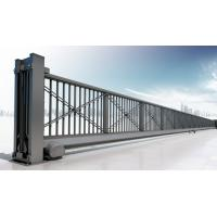 China Motorized Automatic Iron Cantilever Sliding Gate With Remote For Industrial on sale