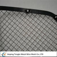 "Buy cheap Stainless Steel Wire Mesh Car Grill|Crimped With Opening 7/16""×7/16"" product"
