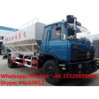 China large capacity-20-22m3 electronic discharging bulk feed delivery truck for sale, 10tons animal feed pellet truck on sale