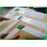 Buy cheap 31-98 inches Oil proof Brown or White PE Coated Kraft Paper for Packaging from wholesalers