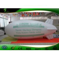 Buy cheap Customized Logo 5m Inflatable Blimp / Airship / Inflatable Zeppelin Helium Balloon product
