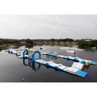 Buy cheap Bouncia 2018 New Inflatable Water Obstacle Course For Wake Park product