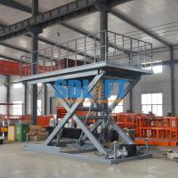 Buy cheap Heavy Duty Hydraulic Scissor Car Lift Table For Home Garage Car Parking Lifting product