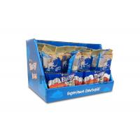 Buy cheap Eye Catching Blue Cardboard Counter Display Boxes , Custom POS Counter Top Displays product
