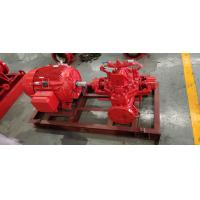 Buy cheap 300 GPM 83 PSI Fire Fighting Pump System , SS UL FM Diesel Fire Pump Package product