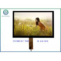 Buy cheap IIC Interface PCT Projected Capacitive Touch Screen , 10.1