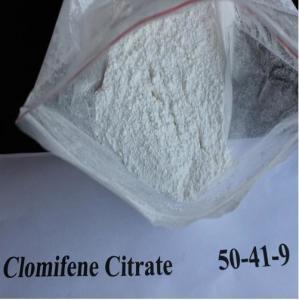 Buy cheap Serm Anti Estrogen Steroids Powder Clomifene Citrate Clomid CAS 50-41-9 product