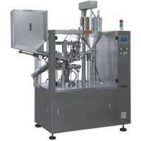 Buy cheap High Efficiency Aluminum Automatic Tube Filling Sealing Machine 75 Tubes / Min product