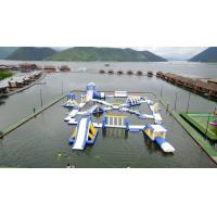 Buy cheap 0.9mm PVC Tarpaulin Inflatable Floating Water Playground For Resort product