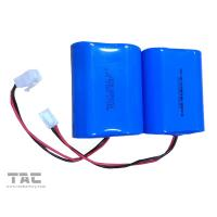 Buy cheap Blue 3.2V LiFePO4 Battery / 6000mah battery pack for solar powered remote weather stations product