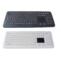 Buy cheap IP68 waterproof industrial rubber medical keyboard with backlit touchpad product