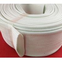 Buy cheap Extrusion Silicone Fiberglass Sleeving , Silicone Fiber Glass Sleeves product
