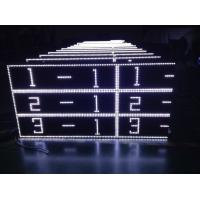 Buy cheap Outdoor White Scrolling Led Sign Cabinet For Advertising AC220V / 110V product