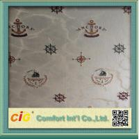 Buy cheap Modern Home Decor Wallpaper Polyester Jacquard Fabric Seamless product