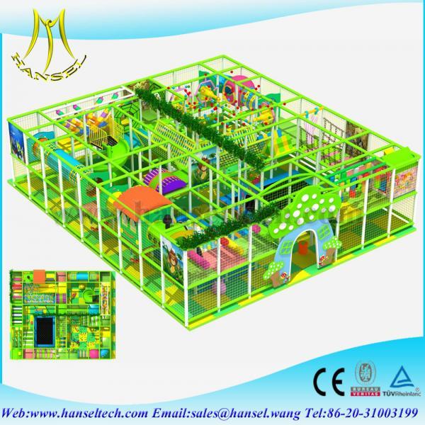 Quality Hansel CE Standard Kids baby children indoor playground mcdonalds with indoor playground for sale