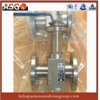 Buy cheap 1-pc Manul Flange Ansi 150# F304 Metal Seal Floating Ball Valve- Ball Valve-Valve-ASG product