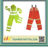 Buy cheap High Visibility ANSI CLASS 3 Winter Workmen Safety Coat Reflective Safety Vests / Clothes product
