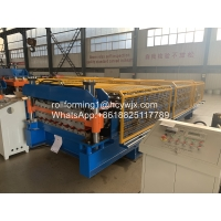 Buy cheap CE Double Layer Roof Panel Roll Forming Machine product