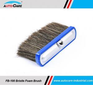 Buy cheap 100% Hog Hair Car Washing Foam Brush/  Soft Bristle Shampoo brushes hot sales to America product