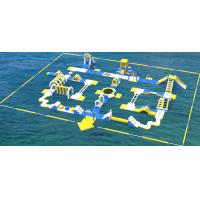 Buy cheap Giant Inflatable Water Park Equipment / Inflatable Sea Water Park For Adults And Kids product