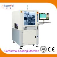 Buy cheap 0.02mm Precision Conformal Automated Dispensing Machines IPC + Control Card product
