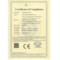 Melton optoelectronics co., LTD Certifications