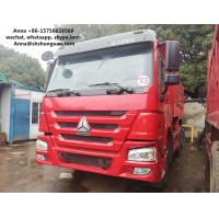 Buy cheap HOWO 375 Euro 3 Used Dump Trucks 9000 * 2500 * 3500 Mm Easy Operation product