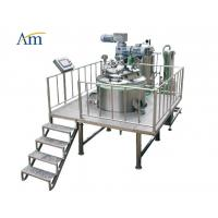Buy cheap Glue Solution And Color Mixer Softgel Encapsulation Machine With Hydraulic Lifter from wholesalers