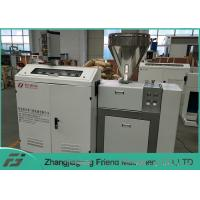 Buy cheap Long Lifespan Plastic Extruder Machine / Single Screw Extruder 50kg/H Capacity product