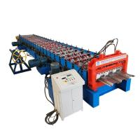 Buy cheap Metal Floor Deck  Roll Forming Machine PLC Control product