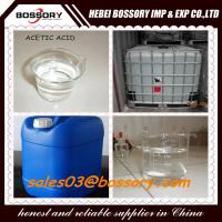 Buy cheap 25kgs Plastic drum packing  Glacial Acetic Acid 99.8% product