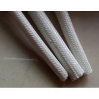 Buy cheap 0.5mm - 2.0mm Range Silicone Rubber Fiberglass Sleeving for Electrical Machinery product