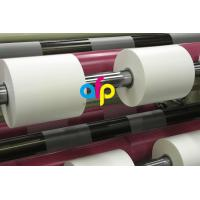 Buy cheap 42 Dynes Double Corona Treatment Thermal Roll Matte Laminating Film for Hot Stamping and Spot UV product
