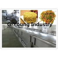 Buy cheap Fried Instant noodles Making Maker Production Line frying noodles machinery product