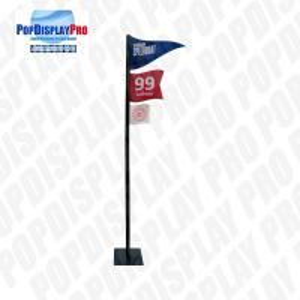 Buy cheap 3 Flags Custom Cardboard Standee Retail Visual Merchandising For Beer Drinks product