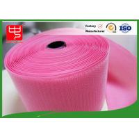 Buy cheap Custom Color Wide hook and loop Hook & Loop Fastening Tape 100% Nylon Light Pink product
