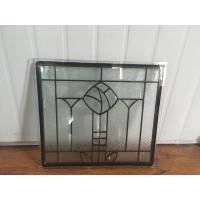 Buy cheap Artistic Tempered Safety Glass IGCC / IGMA Certification Steel Frame from wholesalers