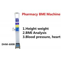Buy cheap Pharmacy Height And Weight Measuring Scale With Blood Pressure Machine DHM - 600B product