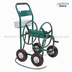 China Liberty Garden Residential 4-Wheel Steel Garden Hose Reel Cart, Holds 350-Feet of 5/8-Inch Hose Green on sale